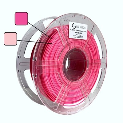 [Ombre Pink] CookieCad PLA 1.75mm 1KG Spool