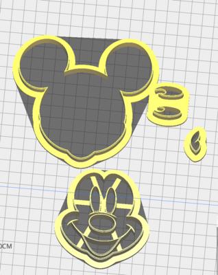 Mickey Mouse (4 PCS)