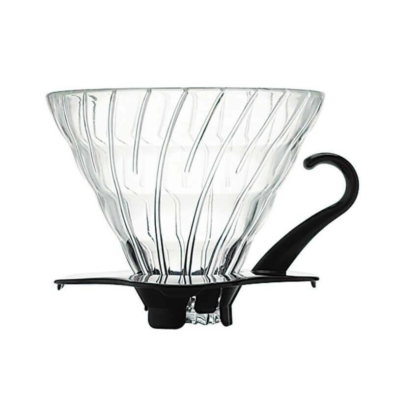 Hario V60 Glass Dripper 01 – Black