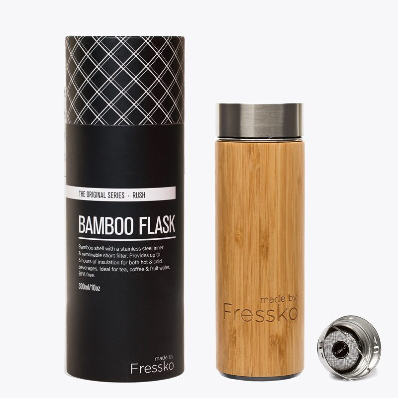 Fressko Rush Flask 300ml Bamboo