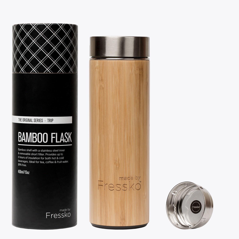 Fressko Trip Flask 450ml Bamboo