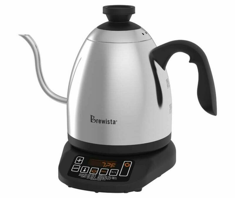 Brewista Smart Pour™ 1.2L Variable Temperature Gooseneck Kettle