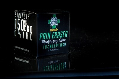 CBD HMU - Pain Eraser - Eucalyptus Ice - Various Sizes