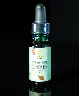 beeZbee CBD - Pet Tincture - Chicken Flavor - 550mg CBD - 15ml