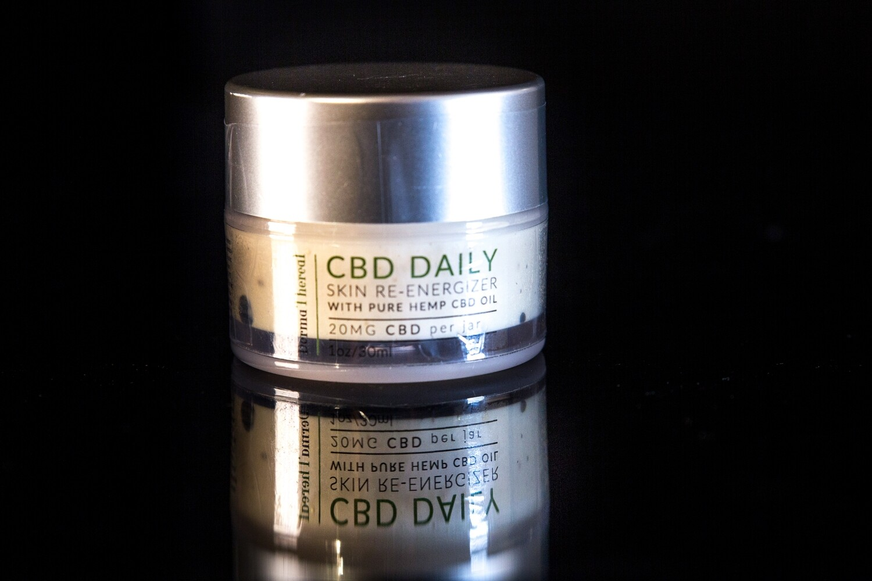 Derma Thereal - CBD Daily - Skin Re-energizer - 20mg CBD