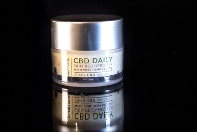 Derma Thereal - CBD Daily - Skin Re-energizer - 20mg CBD