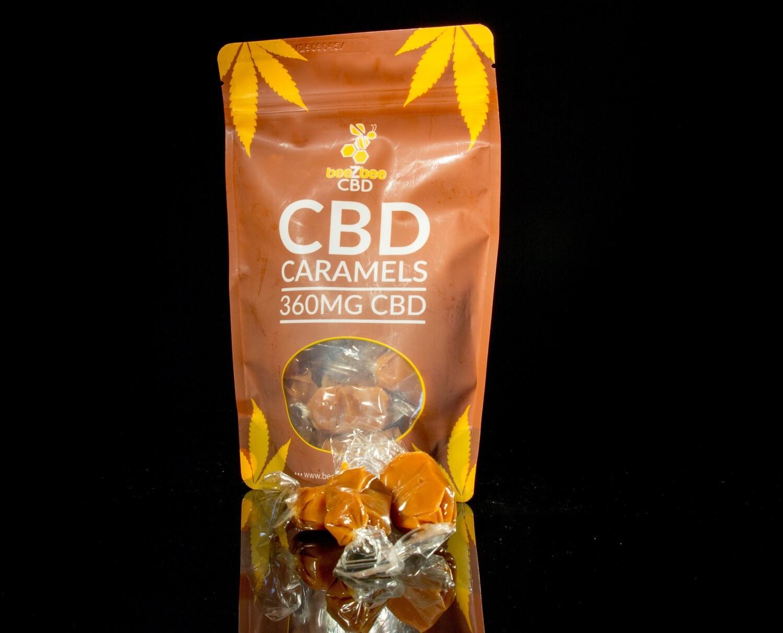beeZbee CBD Caramels - 30mg CBD- Single