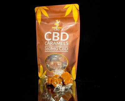 beeZbee CBD Caramels - 30mg CBD- Single