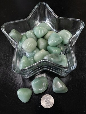 TUMBLED GREEN ADVENTURINE