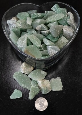 ROUGH GREEN ADVENTURINE