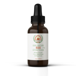 EVERYTHING HEMP-500MG FULL SPECTRUM TINCTURE