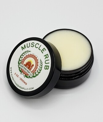 EVERYTHING HEMP- 1500mg CBD MUSCLE CREAM