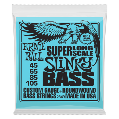 Ernie Ball Super Long Scale Slinky Bass
