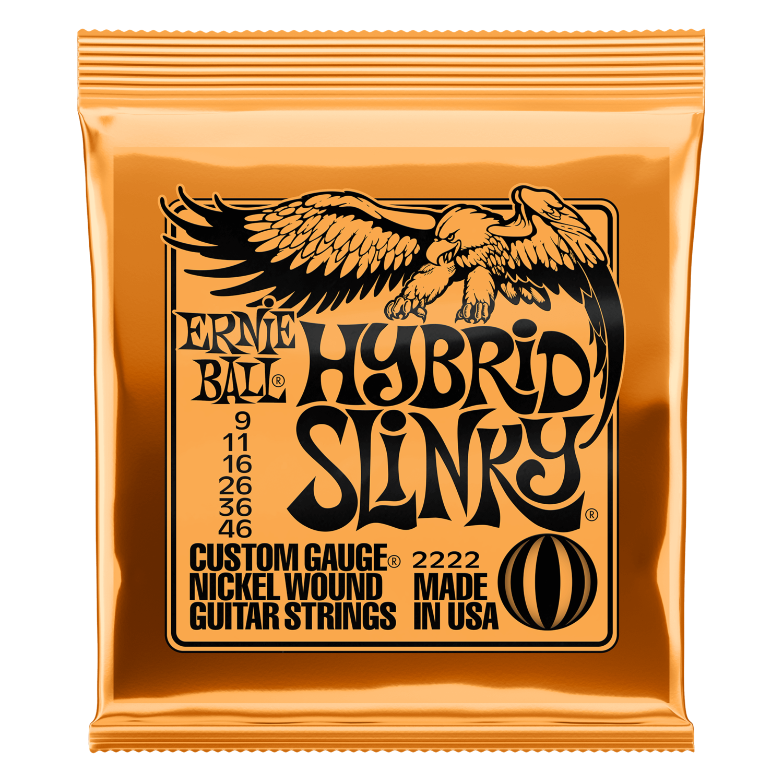 Ernie Ball Hybrid Slinky Nickel Wound