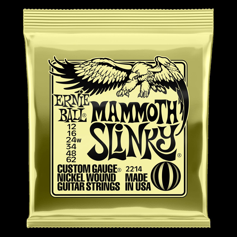 Ernie Ball Mammoth Slinky Nickel Wound