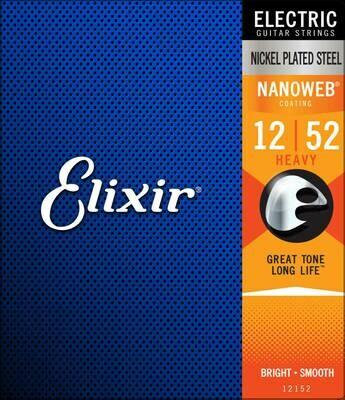 Elixir Nanoweb Heavy 12-52