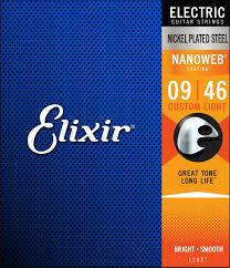 Elixir Nanoweb Custom Light 9-46