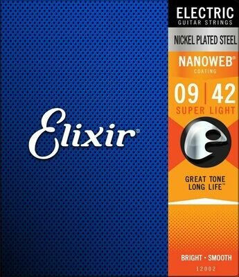 Elixir Nanoweb Super Light 9-42