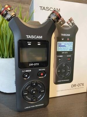 Tascam DR-07X enregistreuse portative stéréo