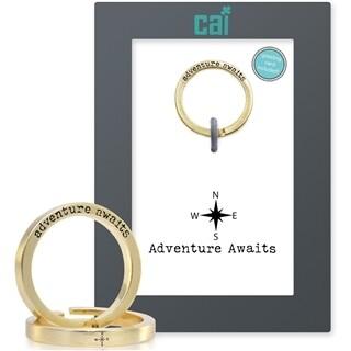 CAI Gold Adventure Awaits Secret Message Ring