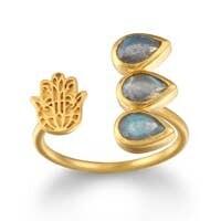 Satya Jewelry Hamsa Ring