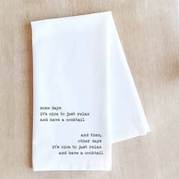 Dev D and Co. Somedays Tea Towel