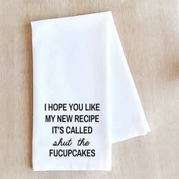 Dev D and Co. my new recipe Tea Towel