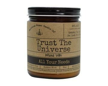 Malicious Women Trust The Universe Candle