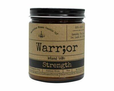 Malicious Women Warrior candle
