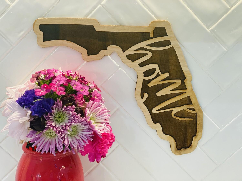 PD Florida Home Sign