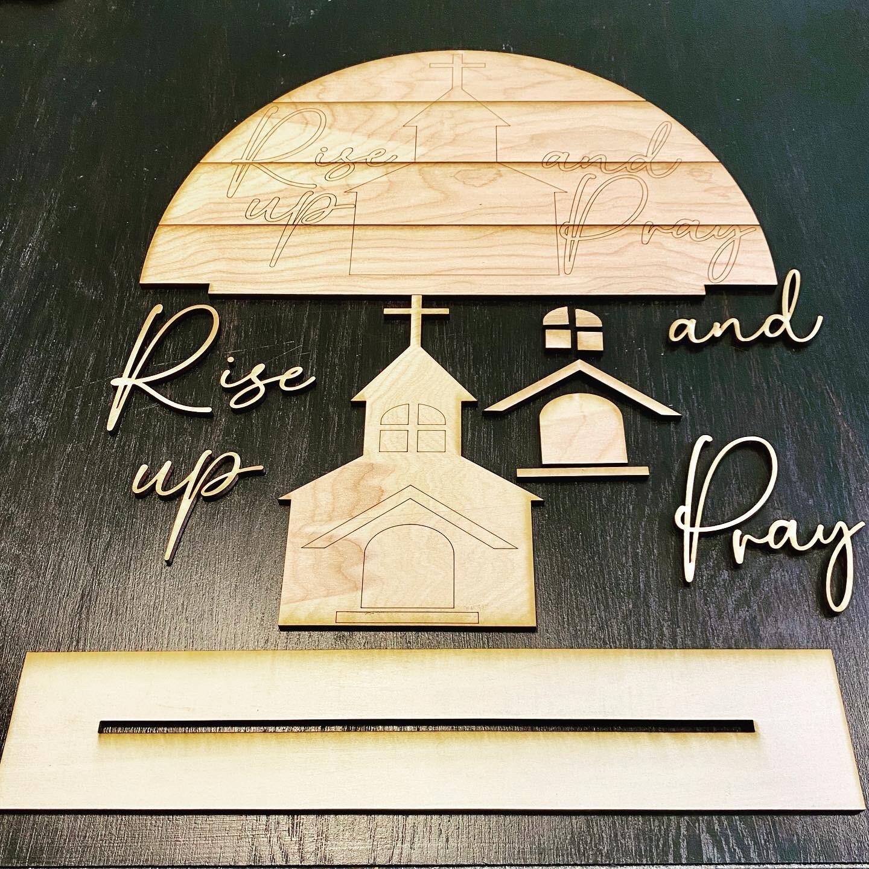 PD Rise Up And Pray DIY Kit