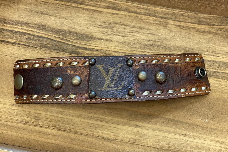"""LV Cuff Bracelet 8"""" (E)"""
