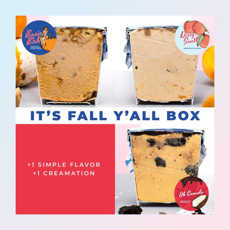 IT's FALL Y'ALL BOX