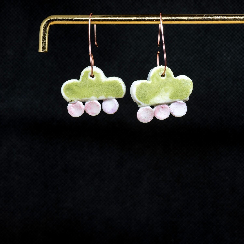 PB32 Green and Pink Drops
