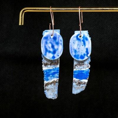 PB60 Blue Silver Seas