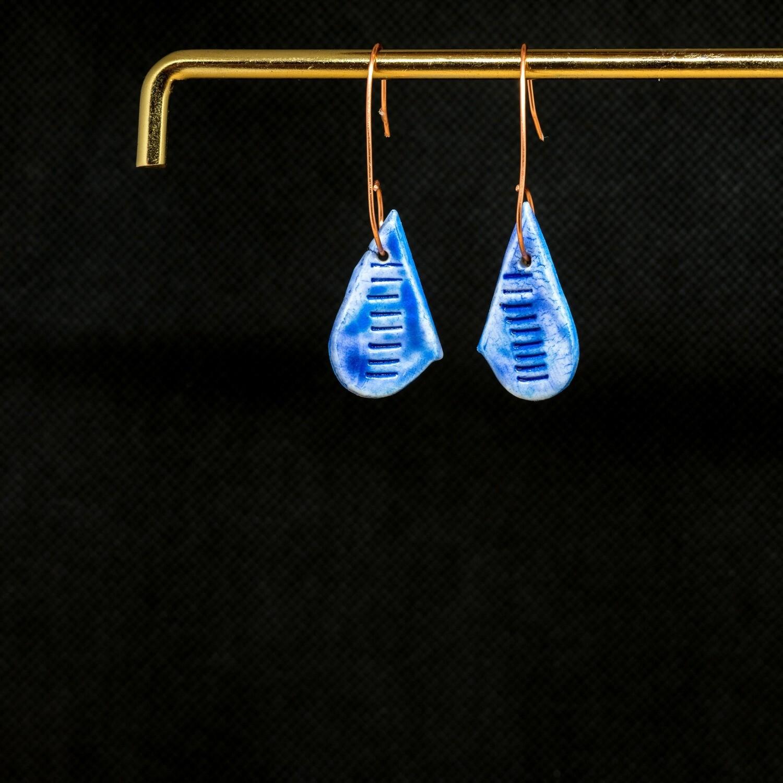 HL110 Blue Teardrops