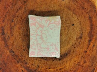 Sweet Pink Floral Brooch