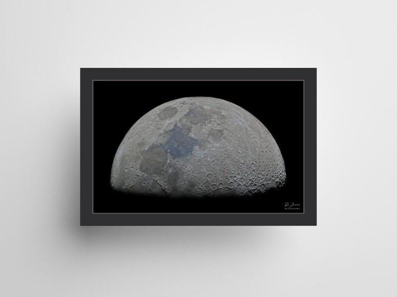 Large Half Moon poster