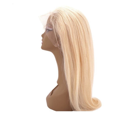 Blonde Full Lace Straight Wig