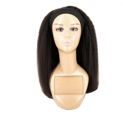 Kinky Straight Headband Wig