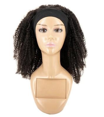 Afro Kinky Curly Headband Wig