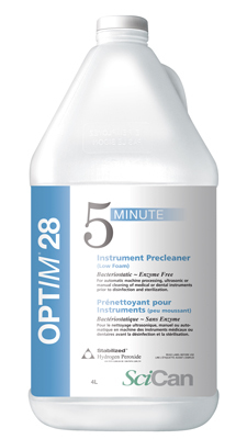 OPTIM 28 ultrasonic solution (4 Gallons /Case) [Backordered until further notice: buy our All-in-ONE enzyme instead]