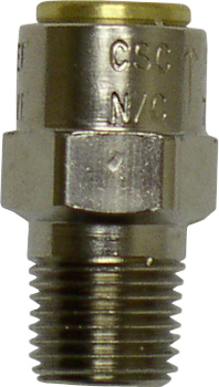 Pressure relief valve fitting for steam generator