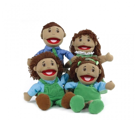 Family Puppet Set - Indigenous