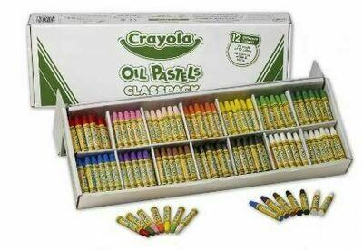 Crayola Oil Pastels Classpack - 12 Colours