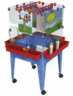 4 Station Space Saver Easel