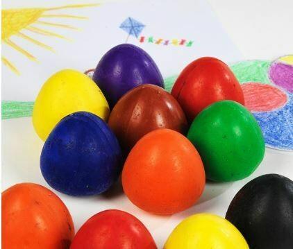 Chubbi Egg Crayons