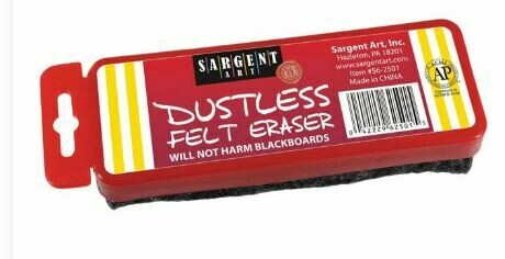 Dustless Felt Eraser