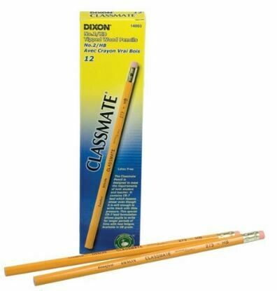 Tipped Classmate Pencils