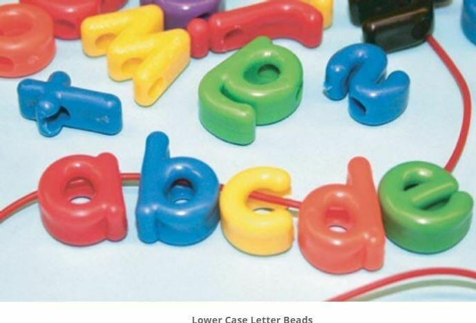 Lower Case Letter Beads
